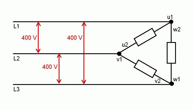 ElektroMotor für Holzspalter verdrahten. • Motorsägen-Portal